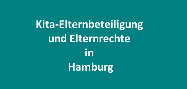 Kita-Elternbeteiligung in Hamburg