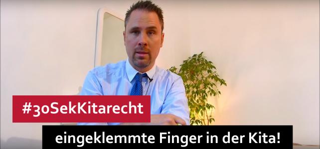 #30SekKitarecht Folge 52 – Die Unfallkasse meldet: Zu viele eingeklemmte Finger!