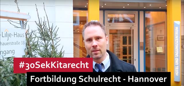 #30SekRecht Folge 86 – Schulrecht & Schulsekretariat @ Hannover