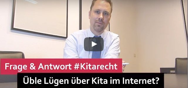 #Kitarecht Folge 106 – Lügen über Kita im Internet – Was tun?
