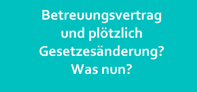 #Kitarechtler.de Folge 123 – Auswirkung Gesetzesänderung auf Kita-oder Hort-Betreuungsvertrag?