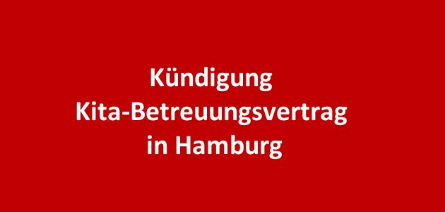 Kündigung Kita-Betreuungsvertrag in Hamburg