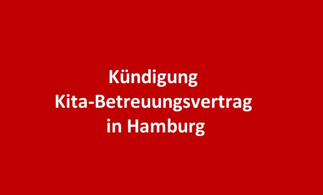 Betreuungsvertrag Kündigung Hamburg