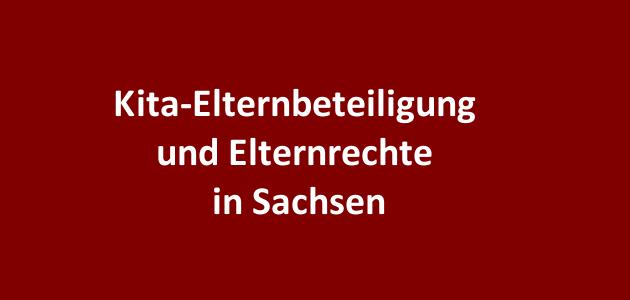 Kita-Elternbeteiligung in Sachsen