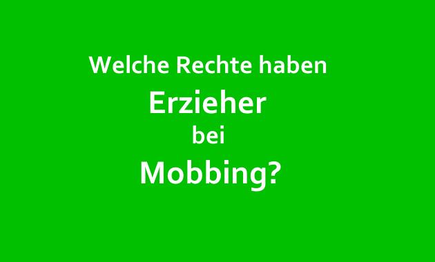 mobbingrechte