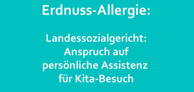 Gericht eröffnet neue Möglichkeiten für Allergie-Kinder