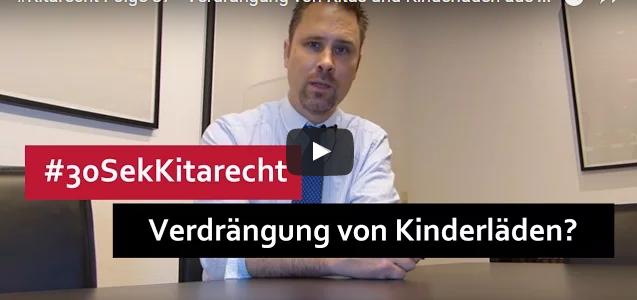 #Kitarecht Folge 87 – Verdrängung von Kitas und Kinderläden aus den Innenstädten?