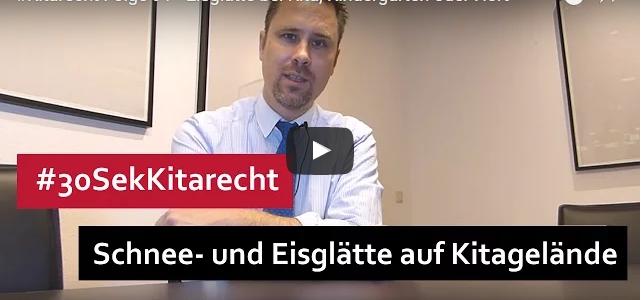 #Kitarecht Folge 91 – Eisglätte bei Kita, Kindergarten oder Hort