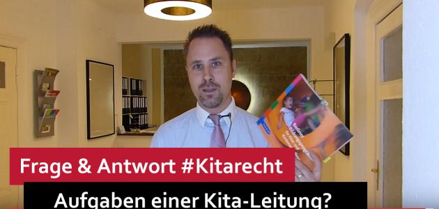 #Kitarecht Folge 89 – Aufgaben einer Kita-Leitung?