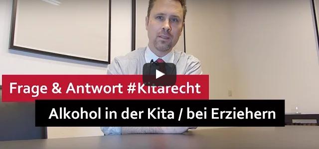 #Kitarecht Folge 108 – Alkohol in der Kita – Erzieher, Hausmeister, Koch