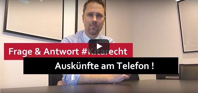 #Kitarecht Folge 92 – Welche Auskünfte darf ein Erzieher oder ein Träger am Telefon geben?
