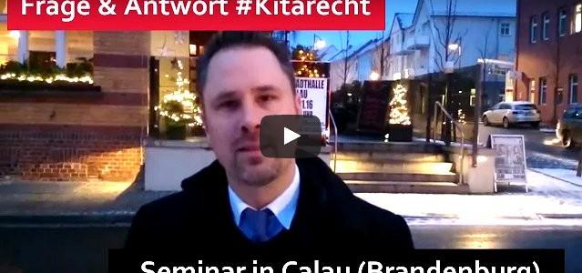 #Kitarecht Folge 105 – Wir geben Seminar in Calau (Brandenburg)