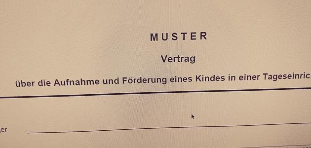 Achtung Kita-Träger in Berlin: Muster-Betreuungsvertrag der Kitaaufsicht ist veraltet!