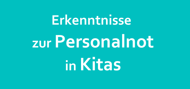 Personalnot in Kitas in Schleswig-Holstein (und anderswo)