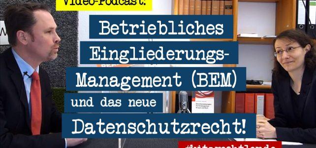 Kitarecht Folge 255: Die neue DSGVO und das BEM für Erzieher in Kita & Hort!