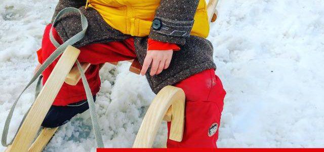 Hinweise der Unfallkassen Nr. 185: Winterspaß im Kita-Alltag