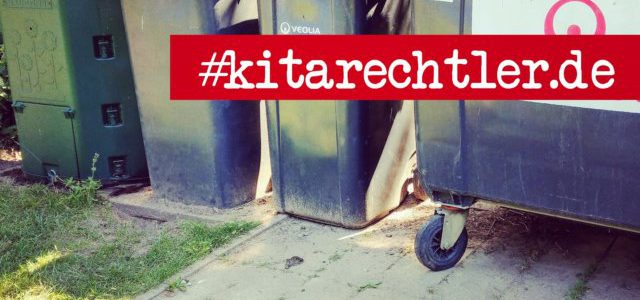 Hinweise der Unfallkassen Nr. 275: Kita-Mülltonnen für Kinder unzugänglich!